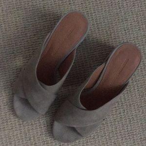 Sigerson Morrison Shoes - Siger son Morrison Taupe suede sandal new